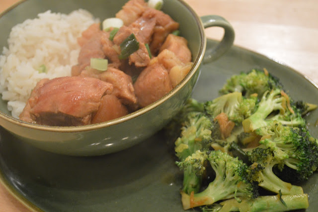 Gordon Ramsays Braised Red Belly Pork with Broccoli