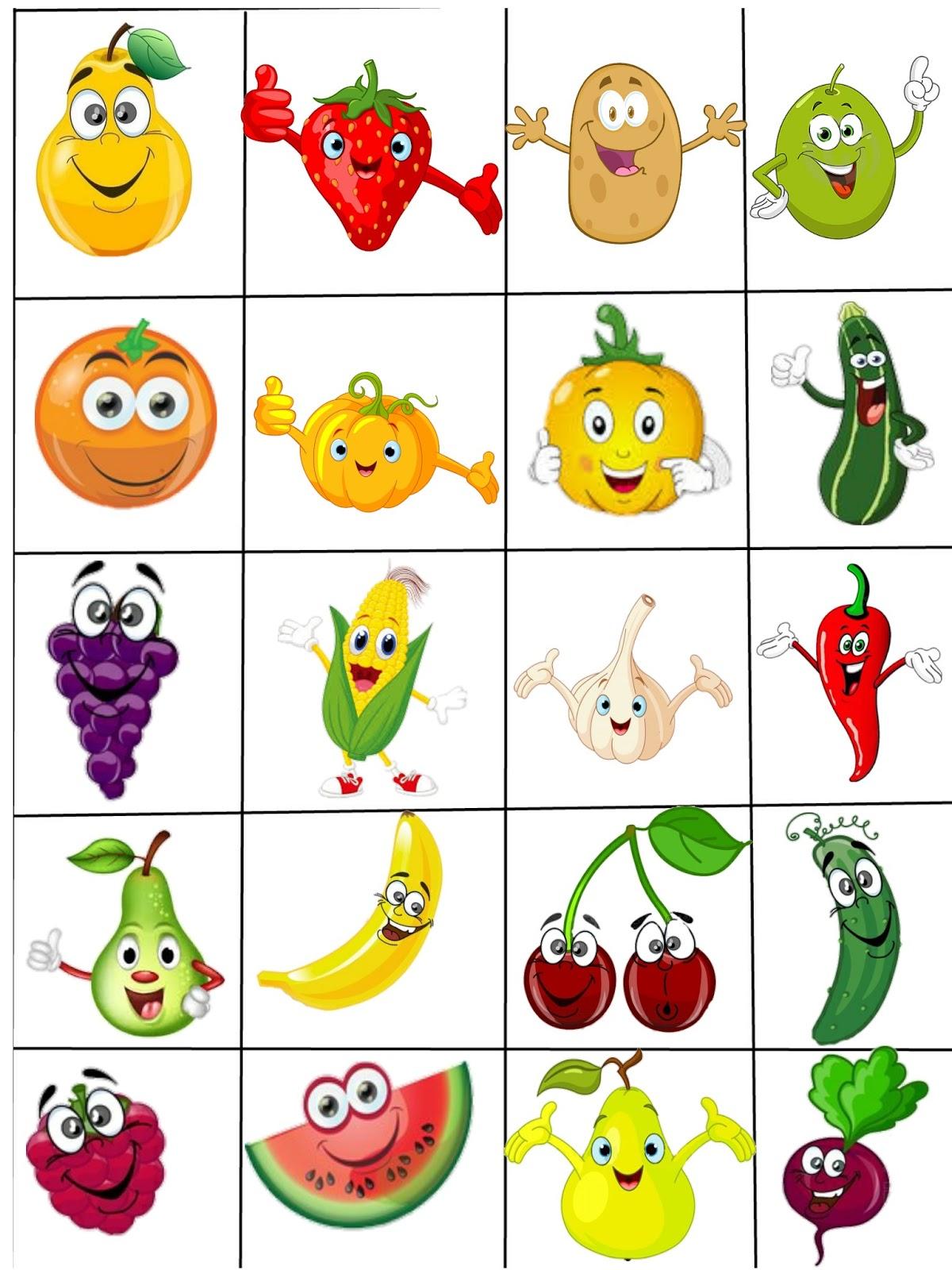 Il blog della maestra francy contrassegni fruttosi e - Disegni in bianco per la colorazione ...