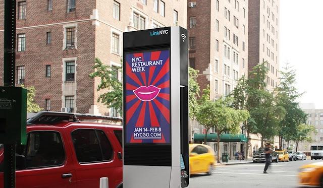 Las cabinas de teléfonos de Nueva York se convierten en puntos de acceso WiFi