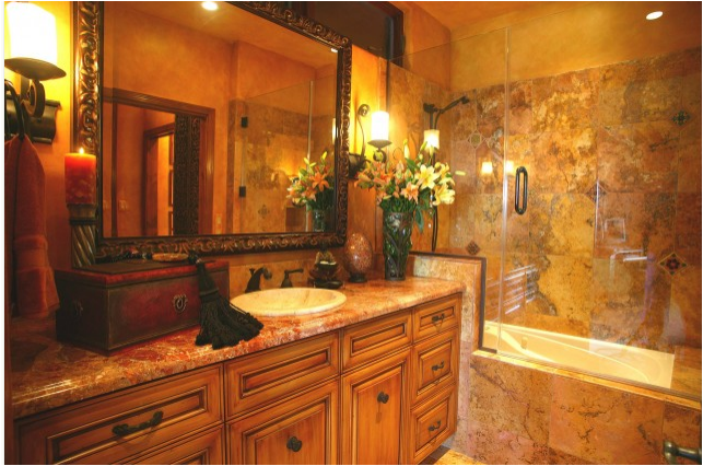 Old world bathroom design ideas room design ideas for Historic bathroom remodel