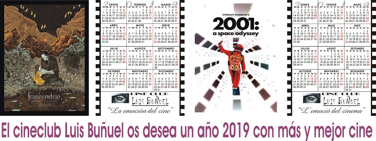 Calendarios Cine Club Luis Buñuel para el Año 2019