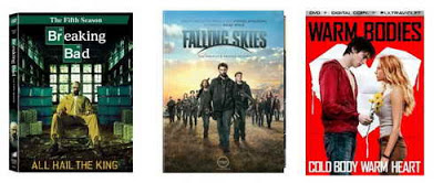 Breaking Bad season 5, Falling Skies, Warm Bodies new on DVD and Blu-ray