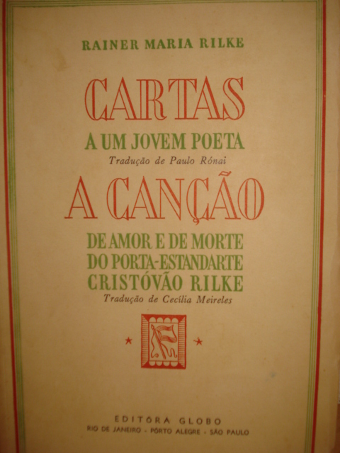 """Cartas a un joven poeta"", por Rainer Maria Rilke DSC00015"