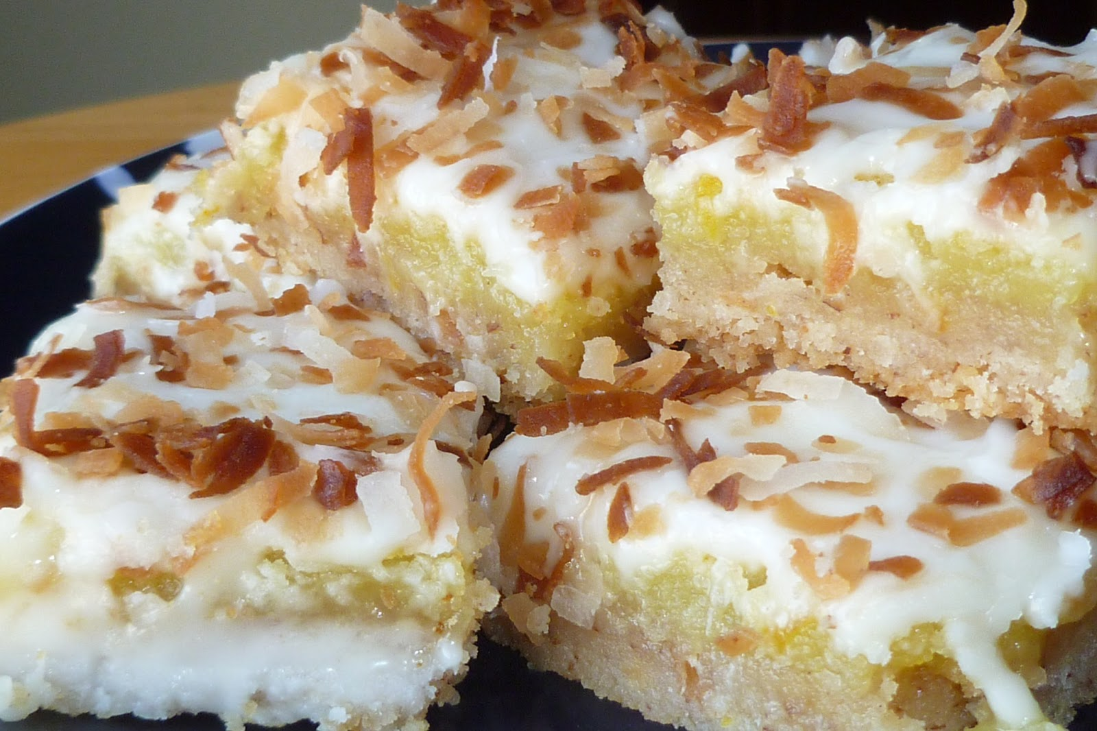 The Pastry Chef's Baking: Pecan-Crusted, Coconut-Topped Lemon Bars
