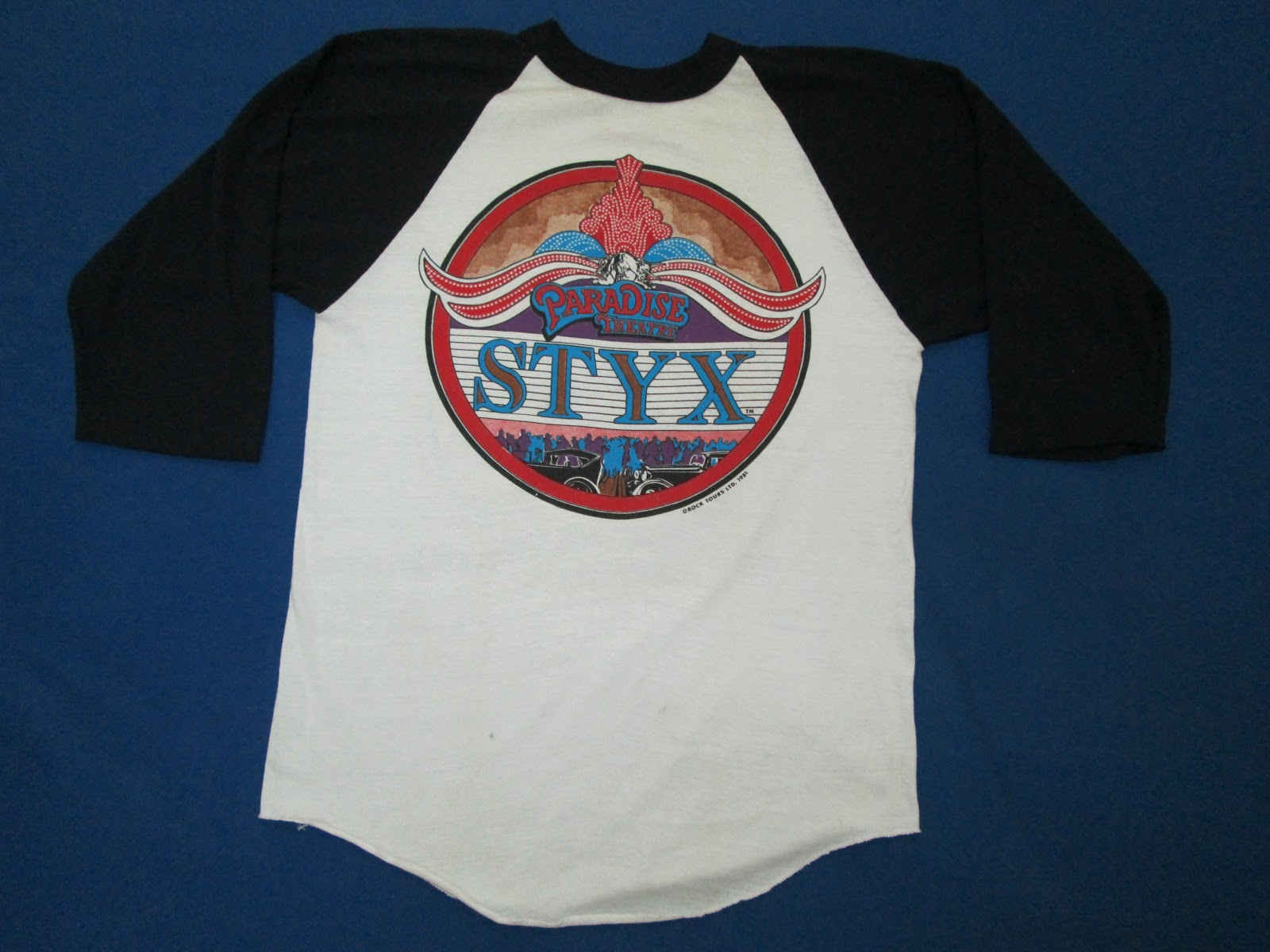 Myscandalcollection Vintage Styx Band T Shirt
