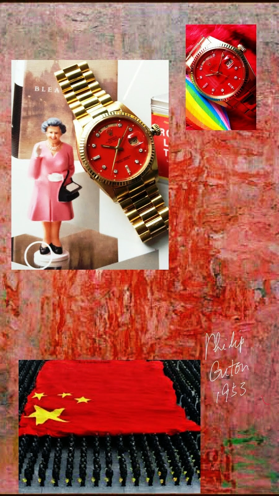 Rolex 1803 and Philip Guston's Zone