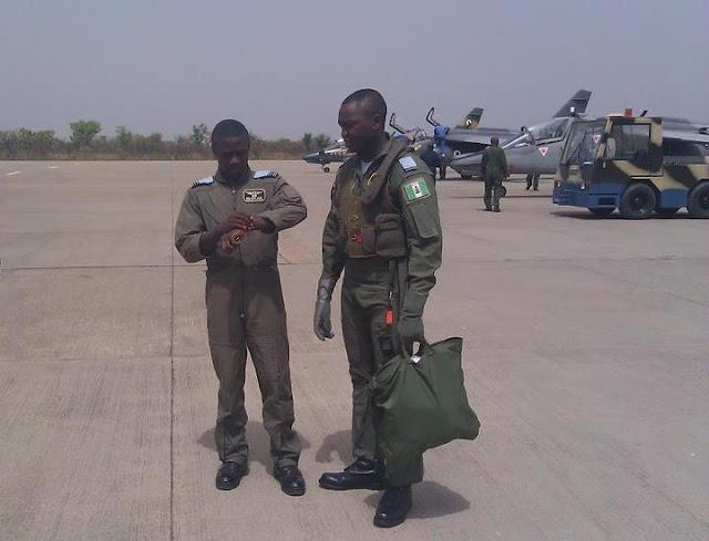 nigerian pilots killed in fighter jet crash