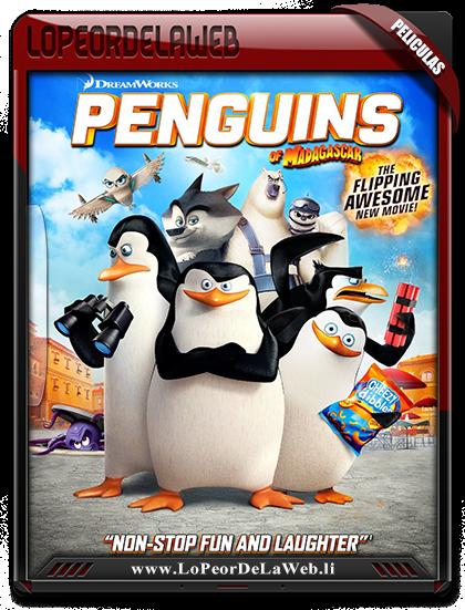 Los Pingüinos De Madagascar (2014) 1080p