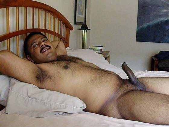 Indian Arabian Gay Naked Dicks Hairy Mustache Man