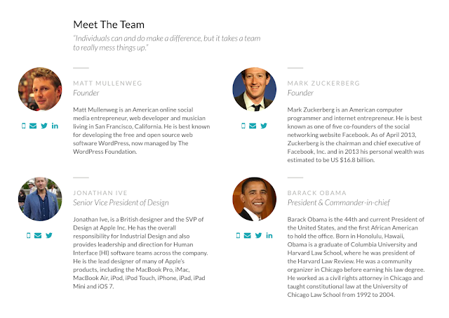 "Creating a ""Meet The Team"" Page in WordPress"