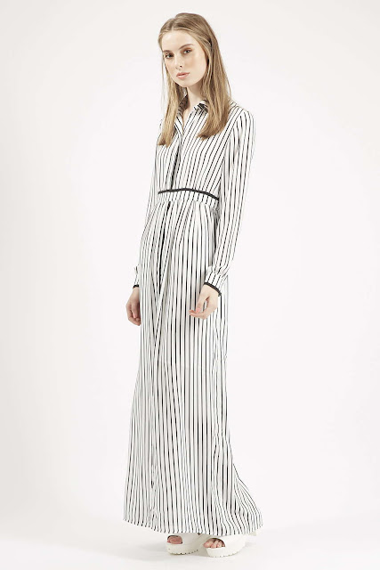 striped maxi shirt dress, maxi shirt dress, maxi dress jovonna,