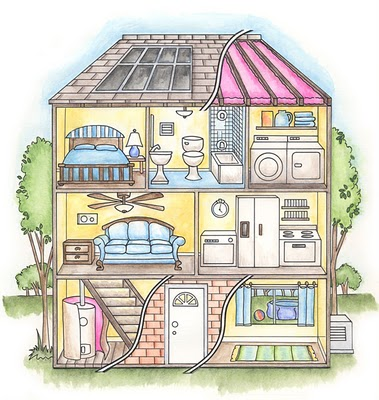 Learn adjectives to describe buildings here. Learn and practise vocabulary  with some games here.