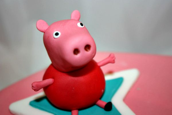 Howto Make Peppa Pig Cake Topper