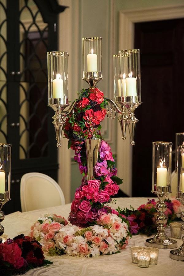 Wedding Party Candelabra Decor