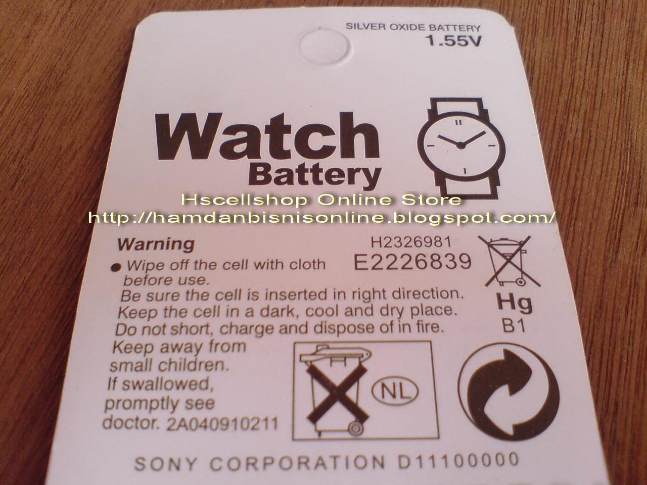 Baterai Jam Tangan Batre AG3 Alkaline