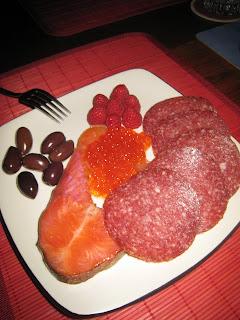 Caviar, Smoked Salmon Appetizers