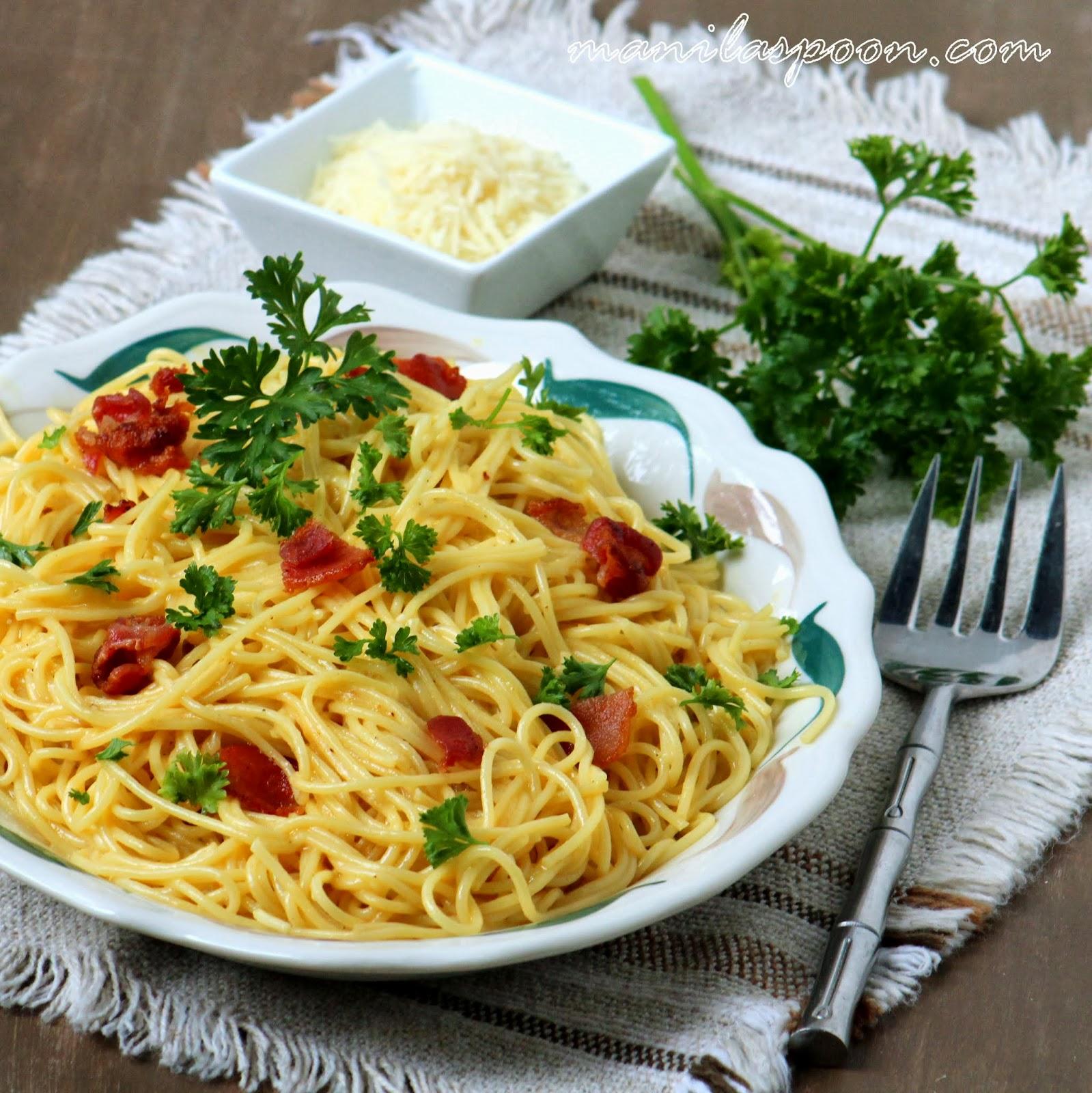 Spaghetti alla Carbonara | Manila Spoon