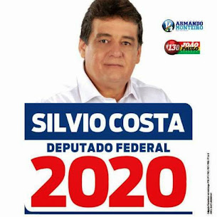 Sílvio Costa Candidato a Deputado Federal - 2020
