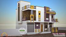 Contemporary Parapet Design of Houses