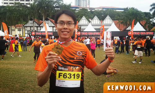 tm fan run 2014 finisher