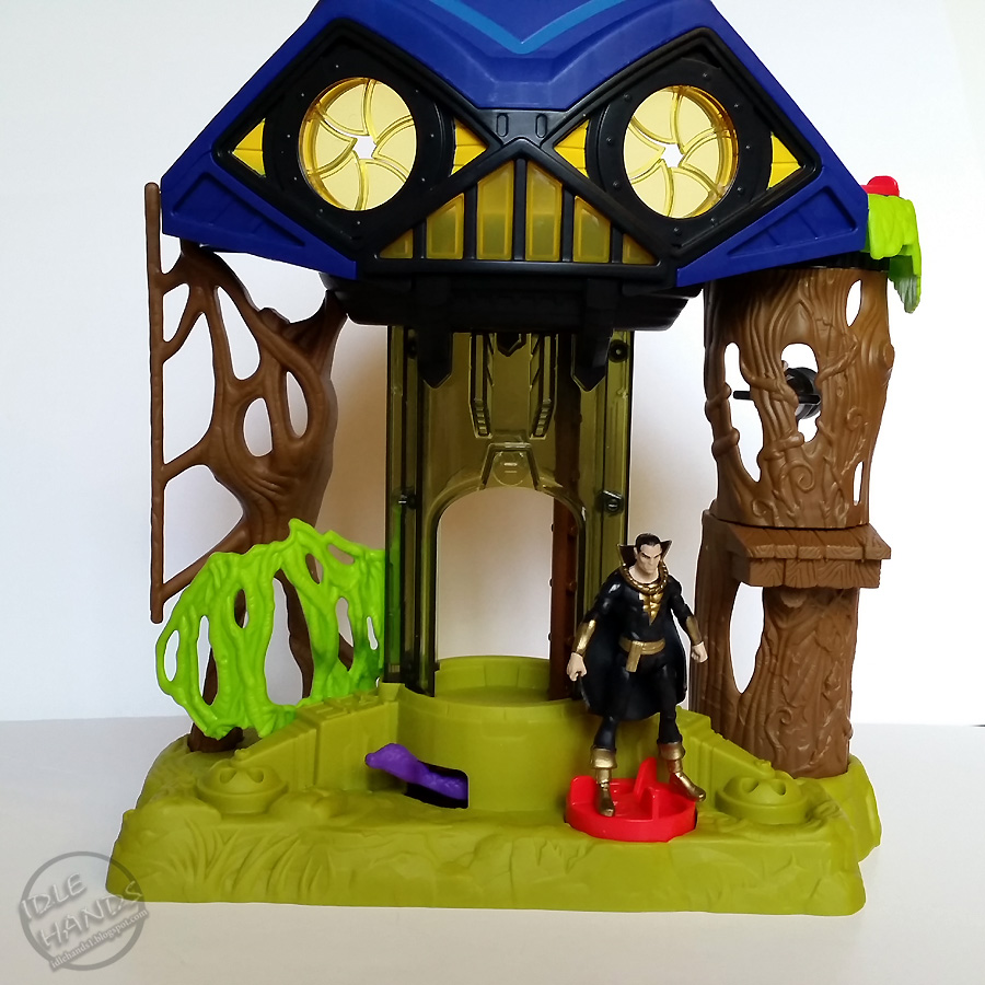 idle hands imaginext dc super friends hall of doom rules