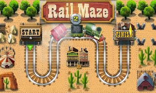 Screenshots of the Rail maze 2 for Android tablet, phone.
