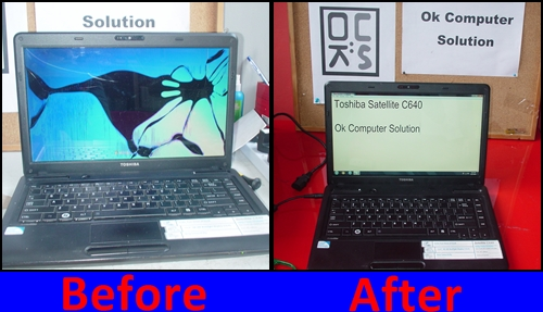 repair screen laptop