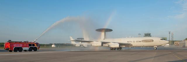 E-3A Component (B-707-320B) NATO-OT LX-N 90449