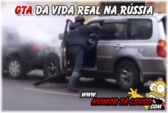 GTA da Vida Real na Rússia