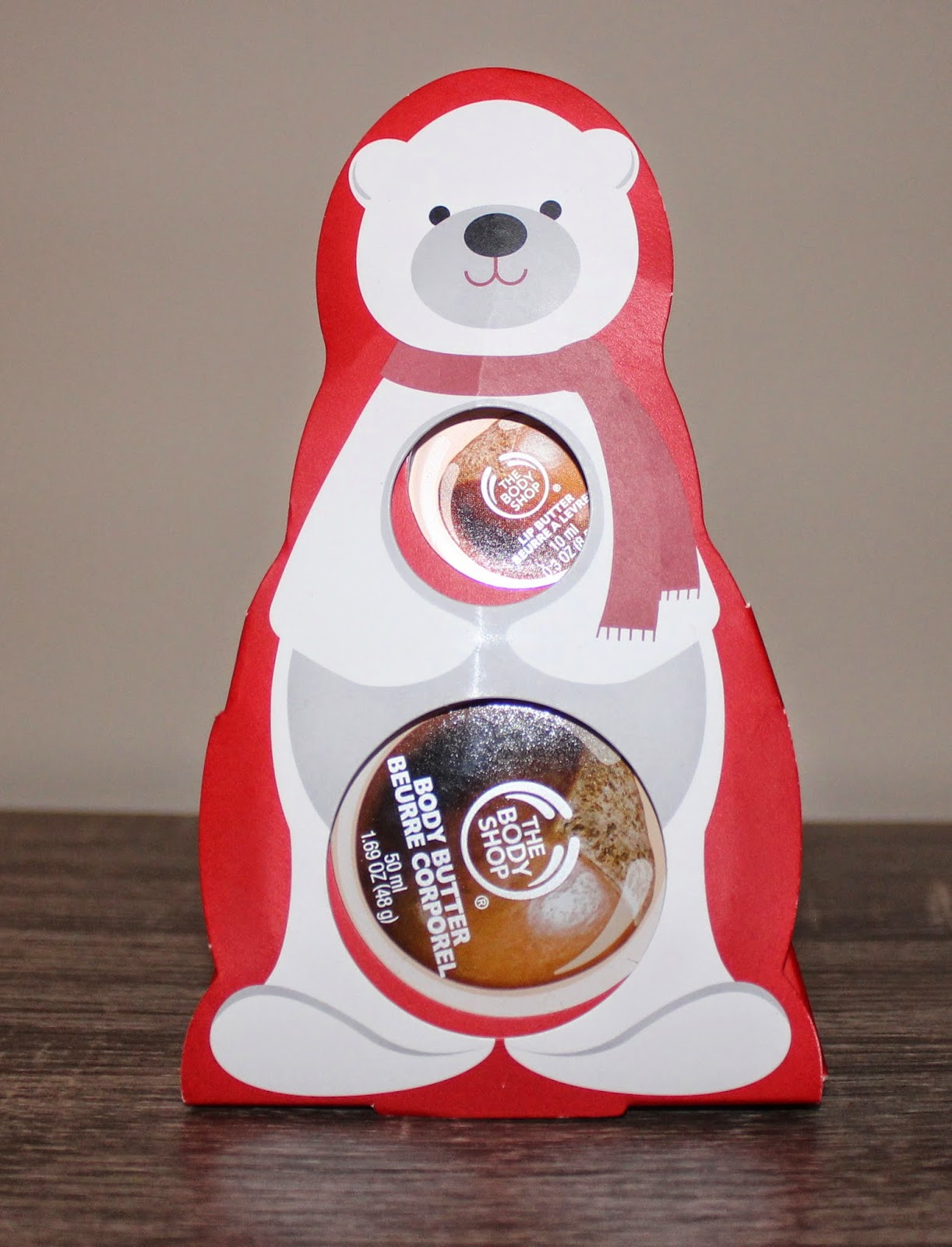 The Body Shop's The Nutty Polar Bear
