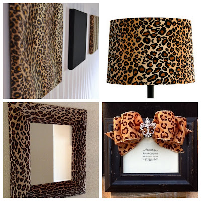 Leopard, Cheetah Wall Hanging, Animal Print Mirror, Cheetah Lamp Shade Cover, Cheetah Decorative Frame, Animal Print DIY Decor, Etsy Gifts, Etsy Mandy's Wall, Etsy Dressashade, Etsy Insolent Indulgence, Etsy Roseandco Decor