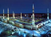 Berita Hoax Kubah Masjid Nabawi di Madinah