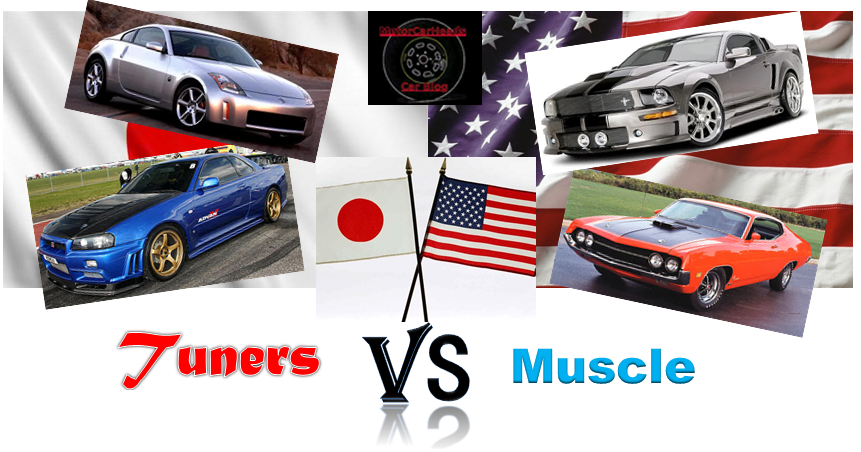 Japanese Tuners Vs American Muscle
