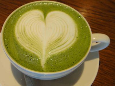 Cara Membuat green tea Latte Super Nikmat