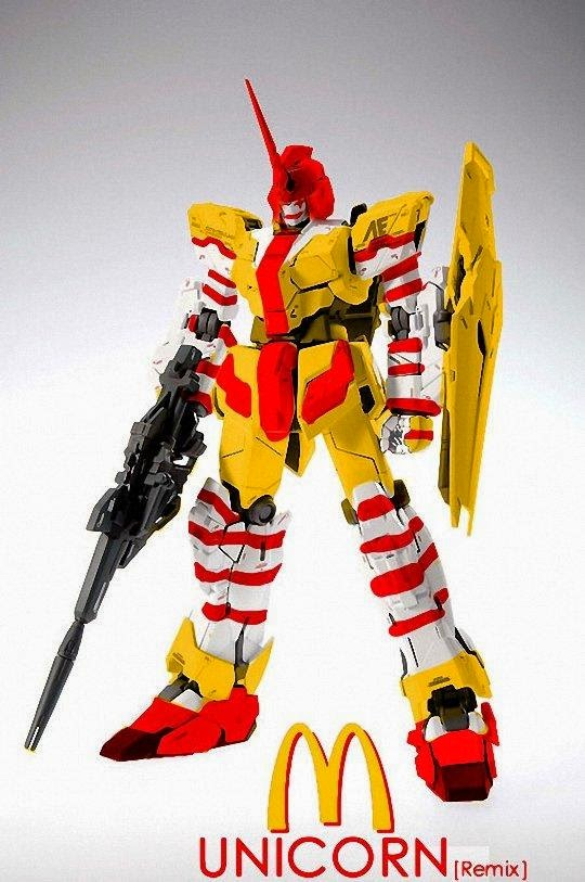 Unicorn Gundam McDonald