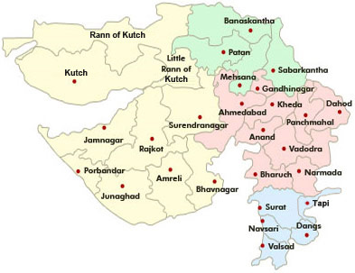 Gujarat District