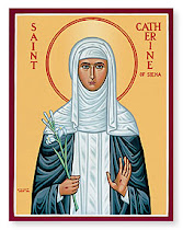 St. Catherine of Sienna