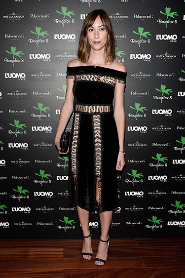 Gia Coppola in Christopher Kane