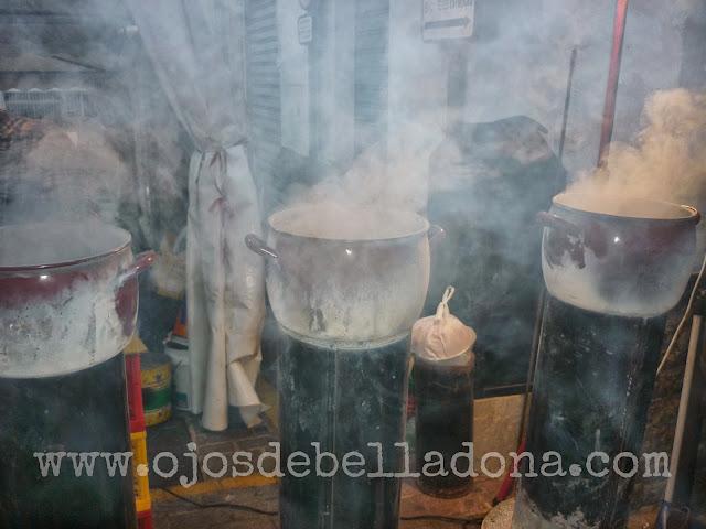 Castañas asadas. V Feria del Vino y la Castaña de Yunquera