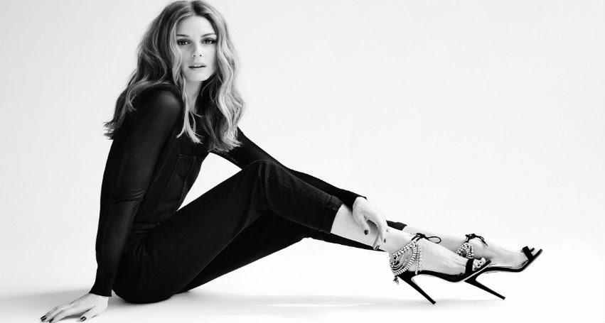 Olivia Palermo diseñadora de Zapatos.