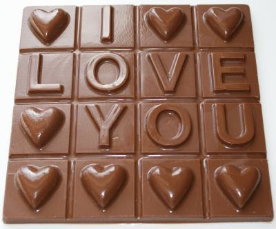I love you chocolate gift