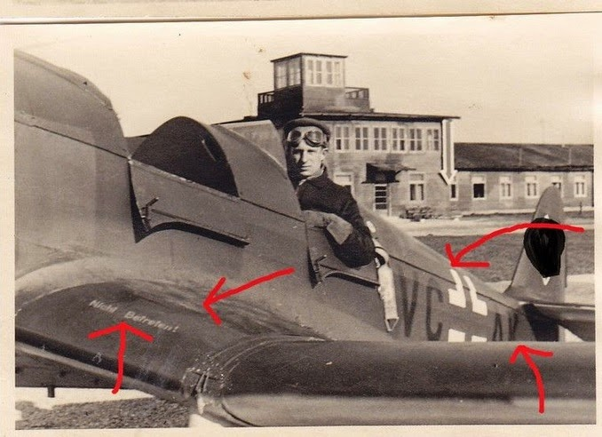 blindflugschule 1 flugplatz brandis 1942