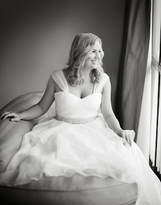 julie soefer bridal portrait at hotel derek Afton Baily