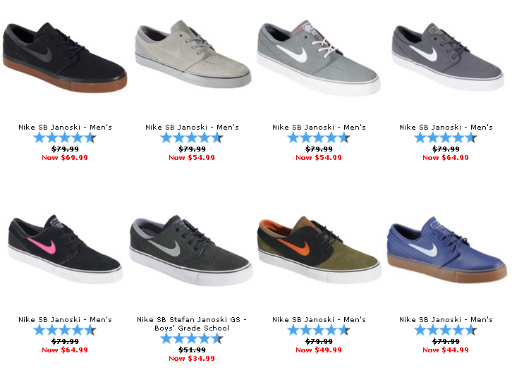 Nike Janoski Shoes Price