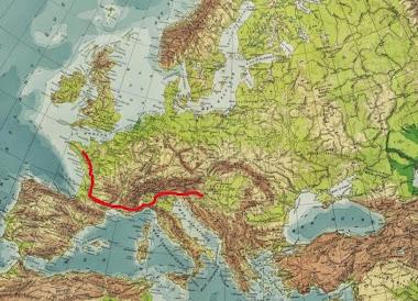 Nos traces de pas sur l'Europe