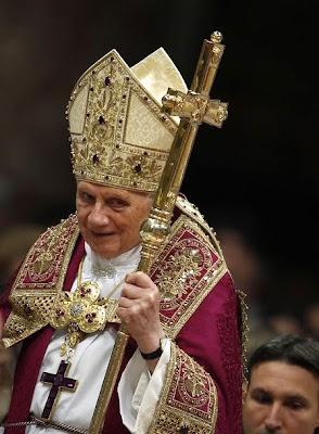 Benedict XVI vestments