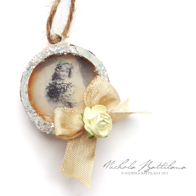 Tiny vintage charm ornaments - Nichola Battilana