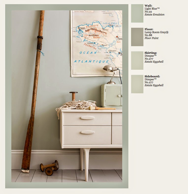 9 Best Dimpse 277 Paint Farrow And Ball Images On: Grubby Cottage: Farrow & Ball
