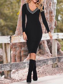 www.shein.com/Black-Long-Sleeve-V-Neck-Dress-p-239665-cat-1727.html?aff_id=2687