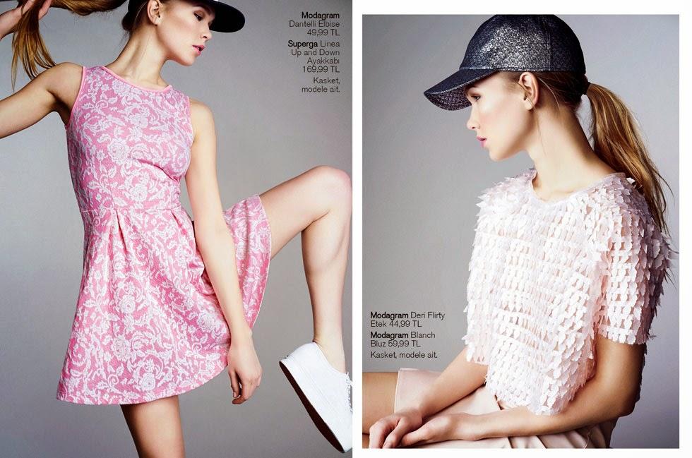 Modagram Dergi Bahar sayısı ile karşınızda,Modagram İlkbahar 2014 Dergisi Cıktı Kapak yıldızımız Buse Terim. Soruları ben hazırladım, Buse tek tek cevapladı. Rengarenk bir röportaj oldu! Ve pek tabii ki bir moda dergisinden bekleyeceğiniz üzere: Sezon trendleri, bahara şık girmeniz için almanızı önerdiklerimiz, sezonun 'in' renkleri, saçlardaki tebeşir modası, sneaker ile kıyafet kombinleme fikirleri ve trendlere dair bir çok ipucu Modagram Dergi'de